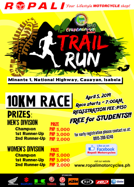 cauayan-trail-run-2014-poster