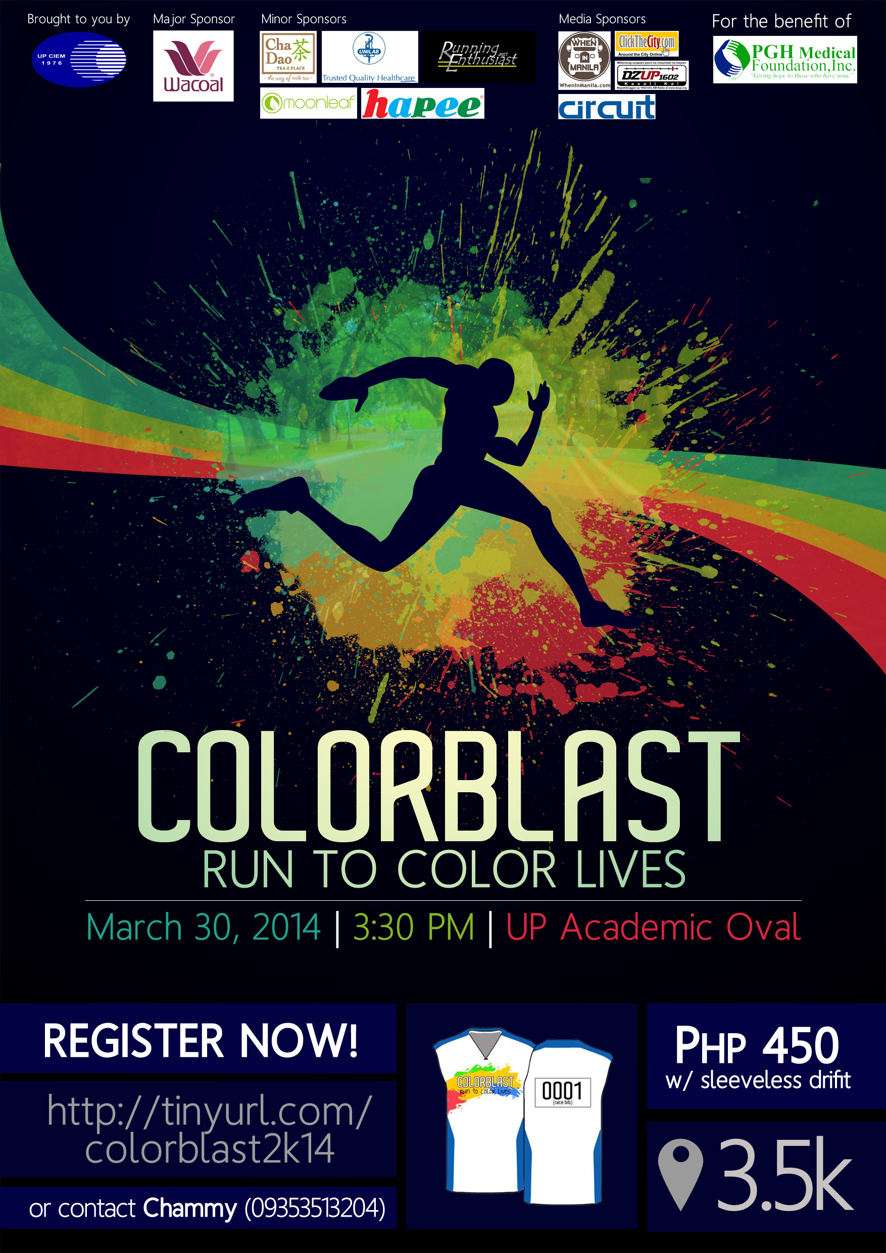 colorblast-summer-run-2014-poster
