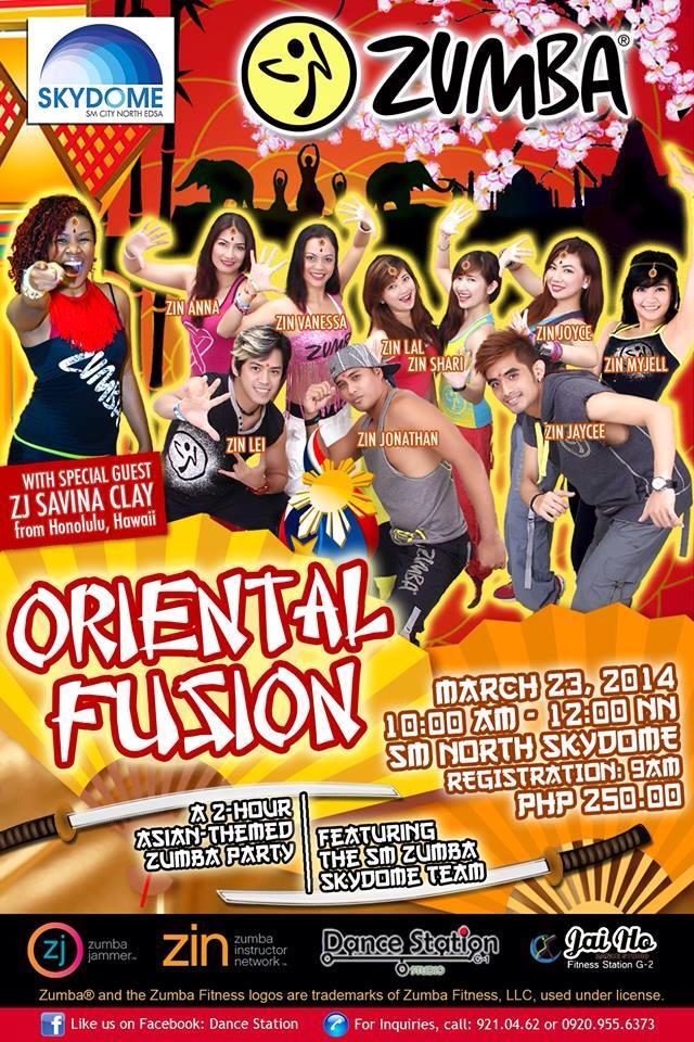 oriental-fusion-zumba-2014-poster