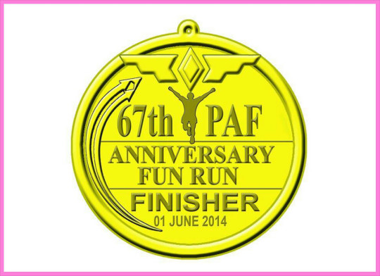 philippine-air-force-67th-anniversary-run-2014-medal
