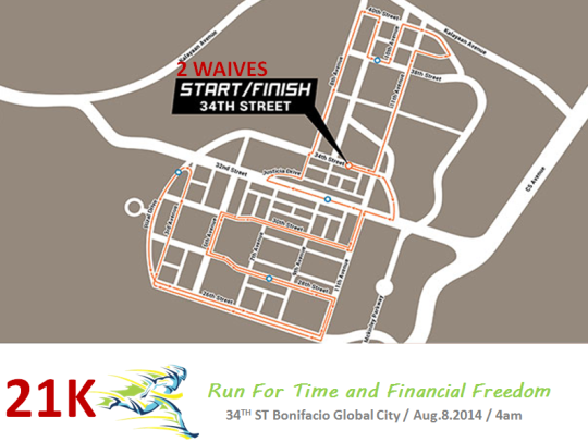run-for-time-&-financial-freedom-2014-route-map-21K