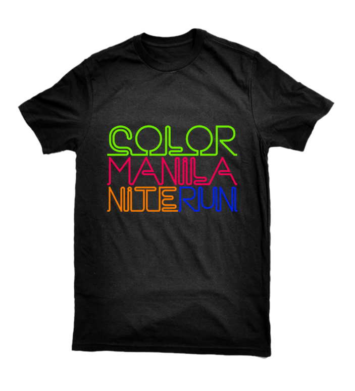 colormanilanite   Nite Run Cebu shirt