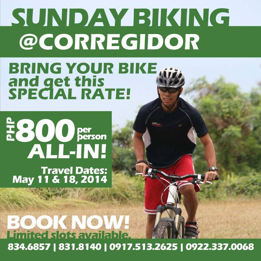 sunday-biking-at-corregidor-2014-poster