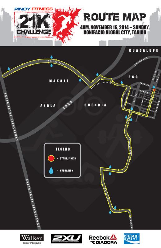 21K CHALLENGE MAP V2