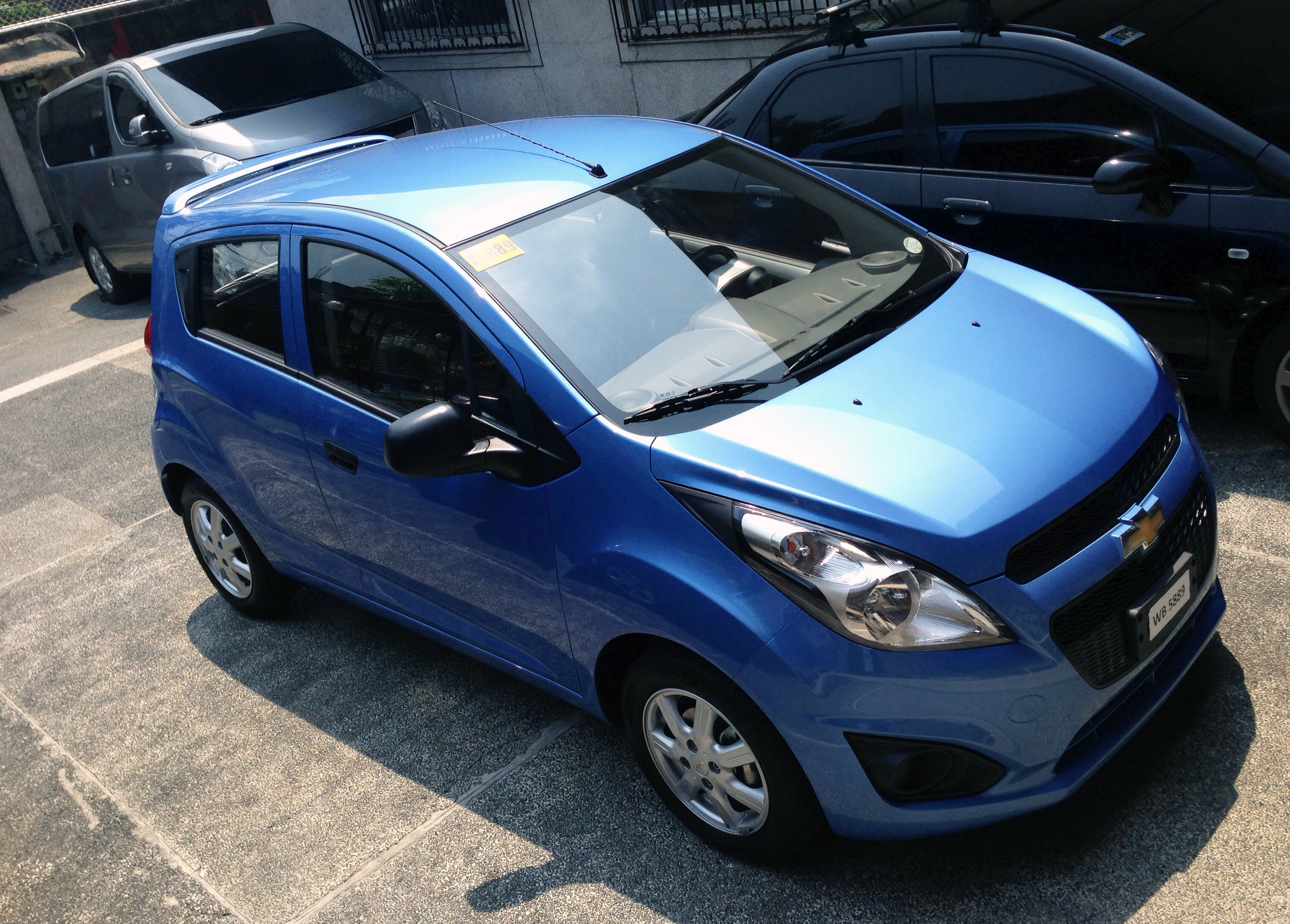 test drive: the new chevrolet spark | pinoy fitness