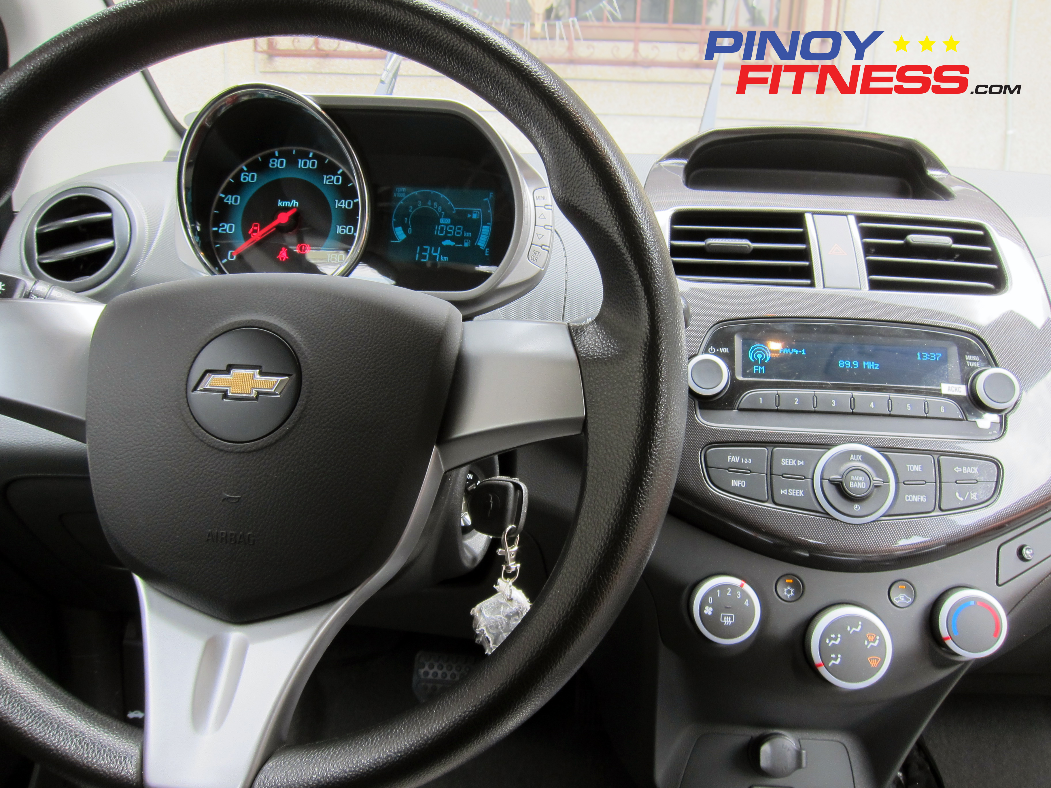 Test drive the new chevrolet spark pinoy fitness