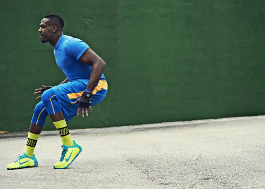 Jon Jones in Nike Free Trainer 5.0