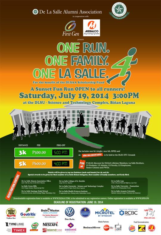 one-lasalle-run-2014-poster