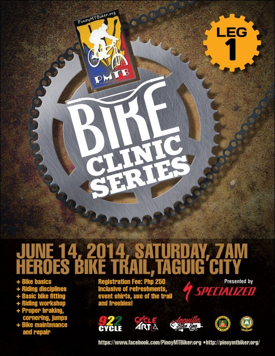 pinoy-mtbiker-bike-clinic-leg1-2014-poster