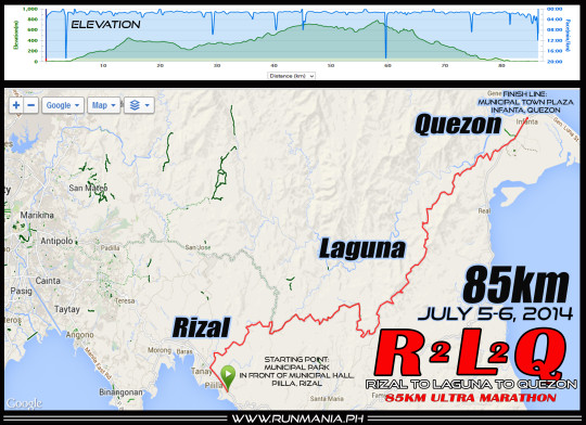 rizal-to-laguna-to-quezon-85K-ultramarathon-2014-route-map