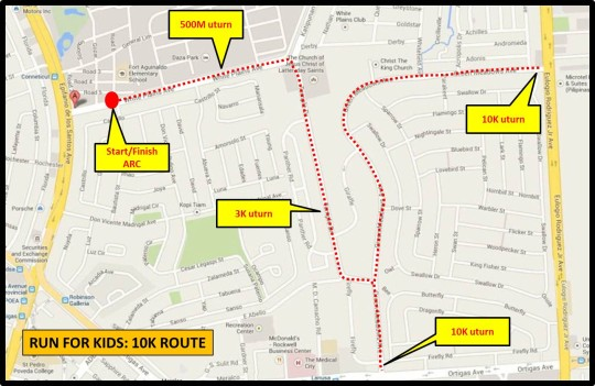 run-for-kids-2014-route-map