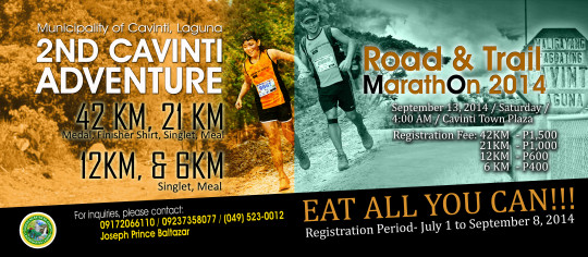 2nd-cavinti-adventure-road-and-trail-marathon-2014-poster