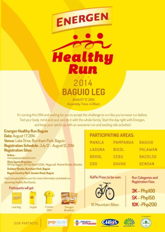 FA HEALTHY RUN A3POSTER BAGUIO