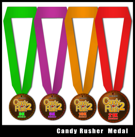 Candy Rush 2 Medals -3