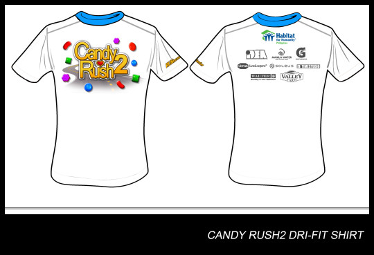 FINAL CANDY RUSH DRI-FIT SHIRT