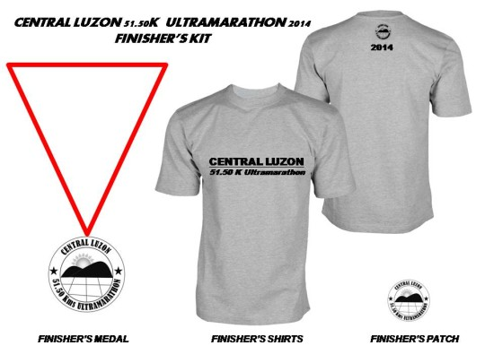 central-luzon-51.50K-ultramarathon-2014-finisher's-kit