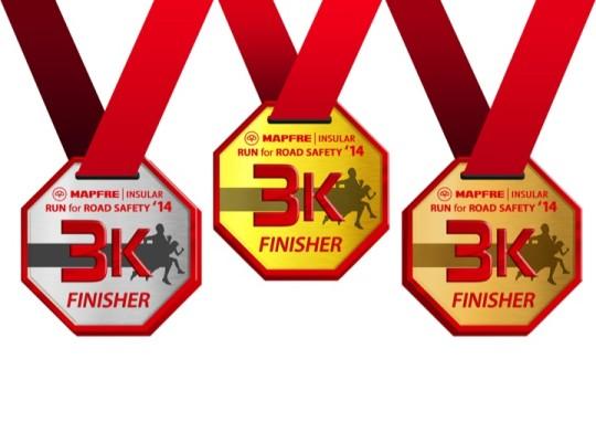 Medals 3k