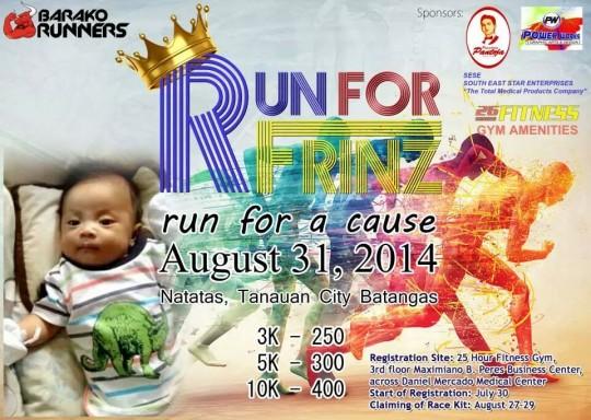 Run-For-Frinz-2014-Poster