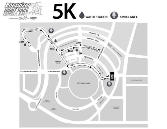 energizer-night-race-2014-5K-route-map