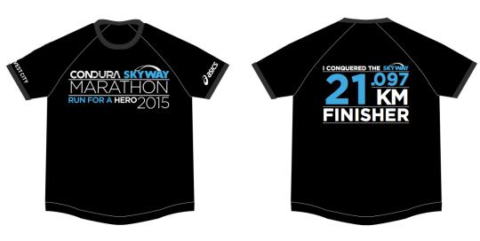 finisher's shirt 21k