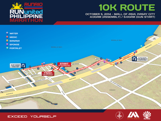 run-united-philippine-marathon-10K-map