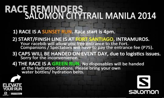 salomon-citytrail-manila-2014-reminders