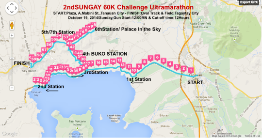 2nd-Sungay-60K-Challenge-Route