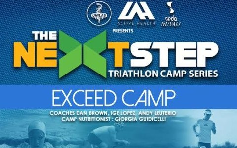 Next Step Tri Camp Exceed Cover