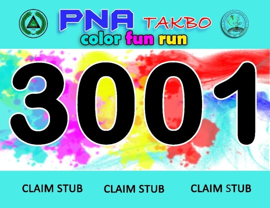 PNA-Takbo-Color-Fun-Run-2014-Race-Bib-1