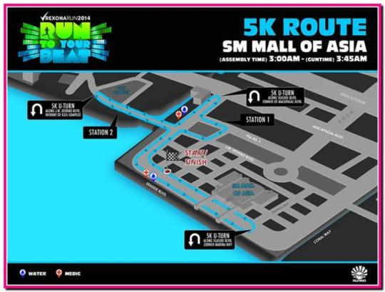 Rexona-Run-2014-5K-Map