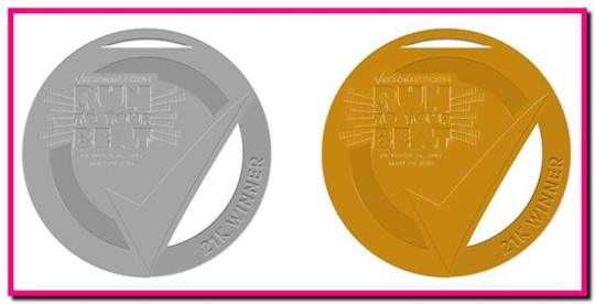 Rexona-Run-2014-Winner-Medal