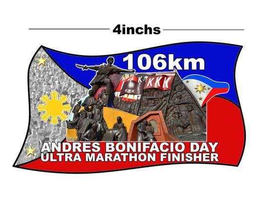 106K-Andres-Bonifacio-Day-Ultramarathon-Medal