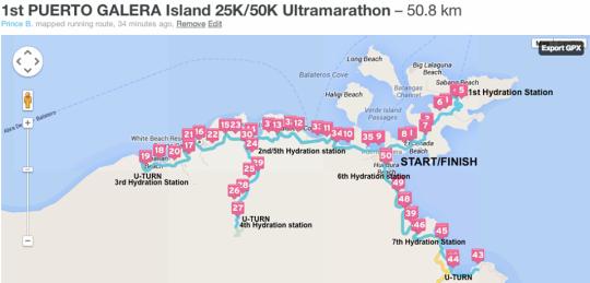 1st-Puerto-Galera-Ultramarathon-50K-Map
