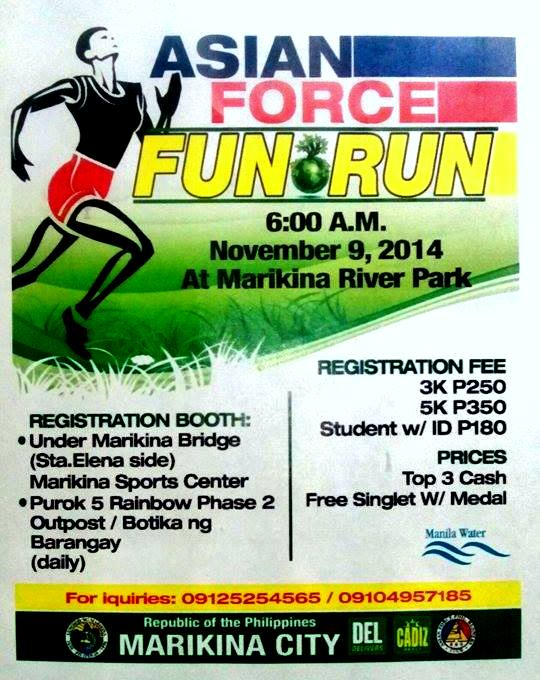 Asian-Force-Fun-Run-Poster