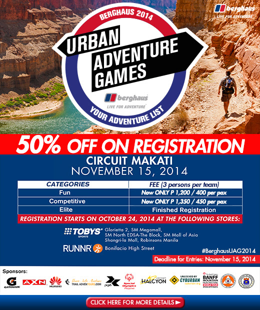 Berghaus-Urban-Adventure-Games-Promo