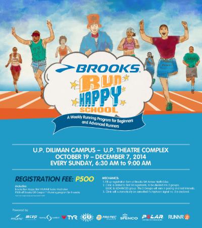Brooks-Run-Happy-Club-UP-2014-poster
