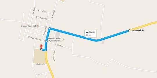 Burgos-Fun-Run-2014-3K-Route-Map