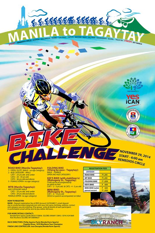 3rd poster bike