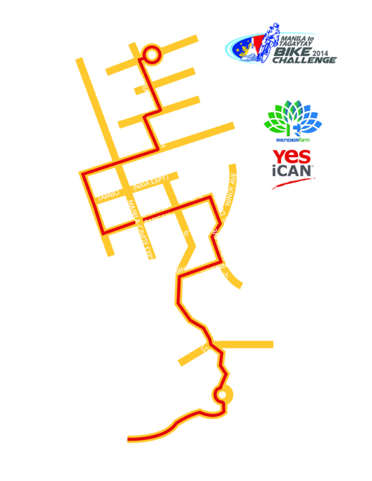Manila-Tagaytay-Bike-Challenge-Route-Map