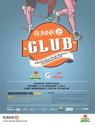 RUNNR Club Alabang Poster-2014