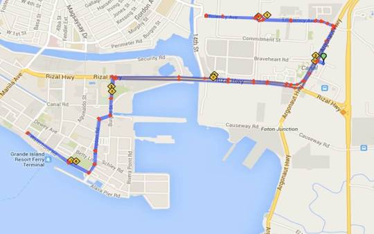 Royal-Subic-Race-To-Silver-10K-Map