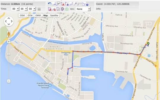 Royal-Subic-Race-To-Silver-5K-Map