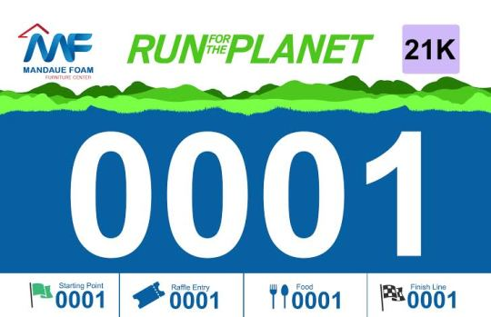Run-For-The-Planet-Bib
