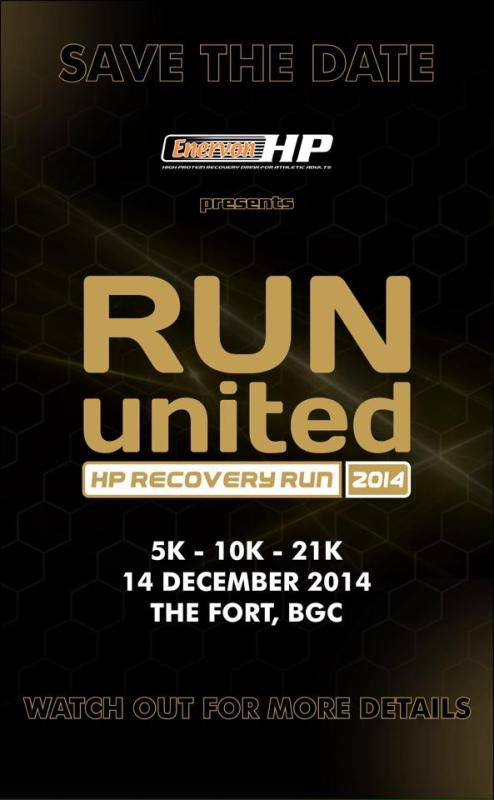 Run United Recovery Run 2014 poster
