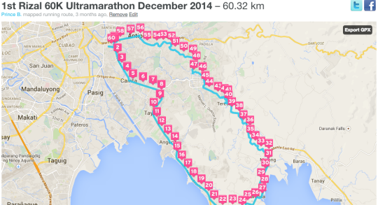 1st-Rizal-360-60K-Ultramarathon-Map