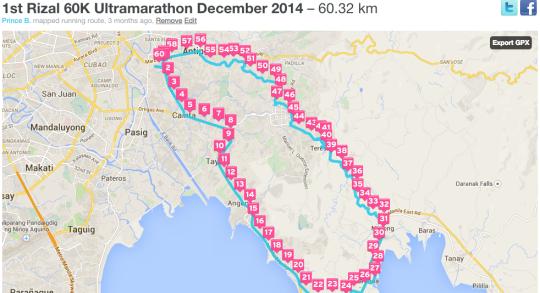 1st-Rizal-360-60K-Ultramarathon-Map