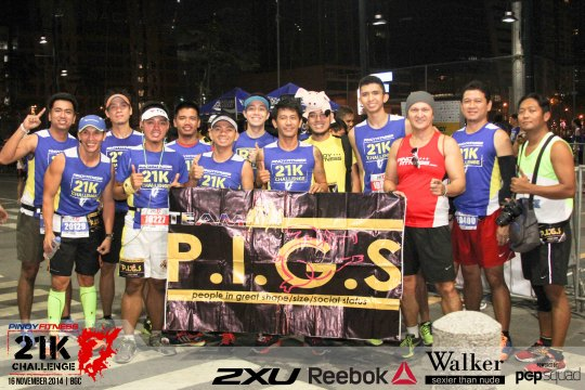 Pinoy Fitness 21K Challenge 2014