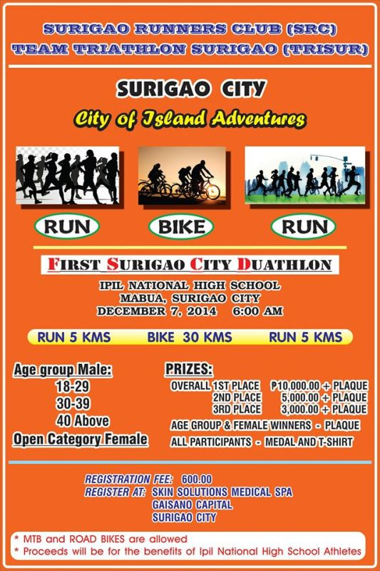 First-Surigao-City-Duathlon-Poster