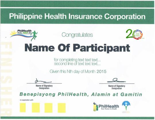 PhilHealth-Run-2014-Certificate