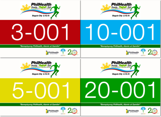 PhilHealth-Run-2014-Race-Bib